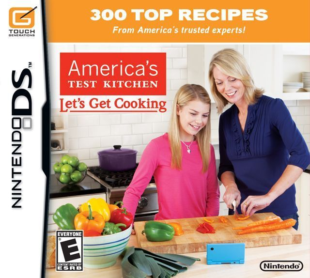 4901 - America's Test Kitchen - Let's Get Cooking - Nintendo DS(NDS