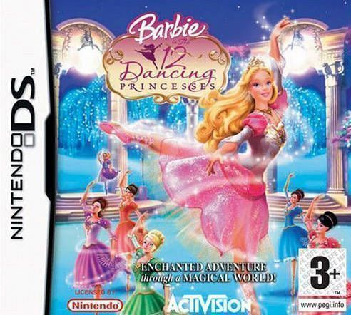 1054 - Barbie In The 12 Dancing Princesses (Sir VG)