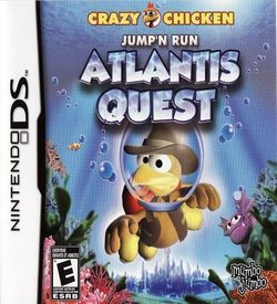 3889 - Crazy Chicken - Jump'n Run - Atlantis Quest (US)(BAHAMUT)
