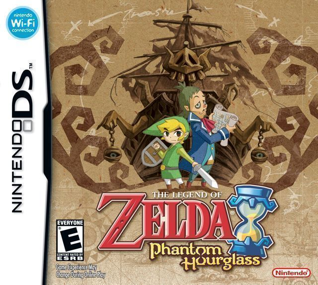 1456 - Legend Of Zelda - Phantom Hourglass, The - Nintendo