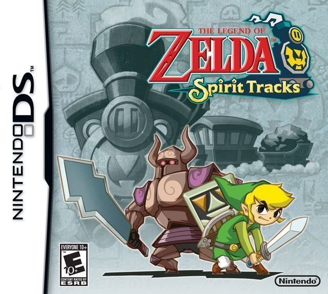 4527 - Legend Of Zelda - Spirit Tracks, The (US) - Nintendo