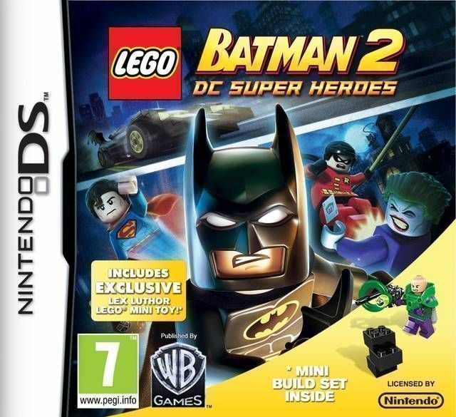 6045 - LEGO Batman 2 - DC Super Heroes - Nintendo DS(NDS) ROM Download
