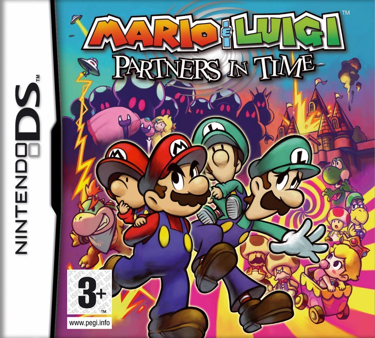 0297 - Mario & Luigi - Partners In Time - NDS ROM Free Download