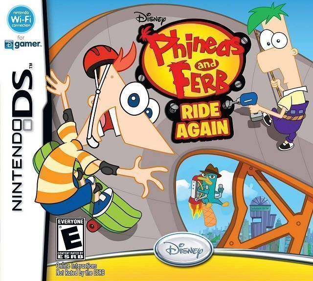 5557 - Phineas And Ferb - Ride Again