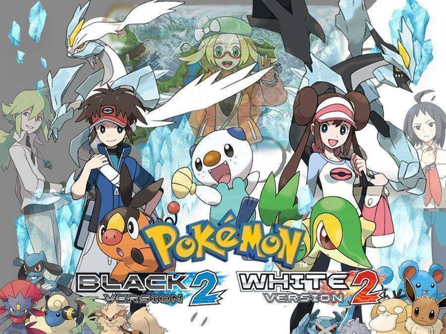 Pokemon black white 2friends rom