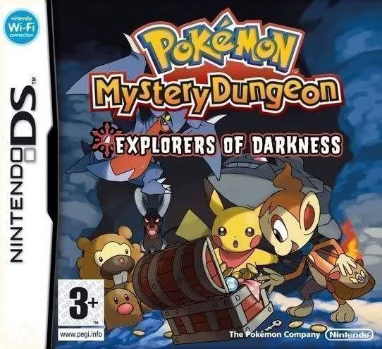 2412 - Pokemon Mystery Dungeon - Explorers Of Darkness - NDS