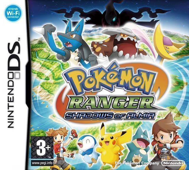 Nintendo Ds Pokemon Games : Pokemon ranger shadows of almia nintendo ds nds