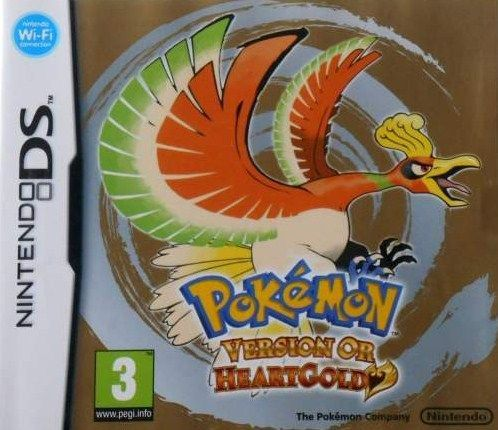 4786 - Pokemon - Version Or HeartGold