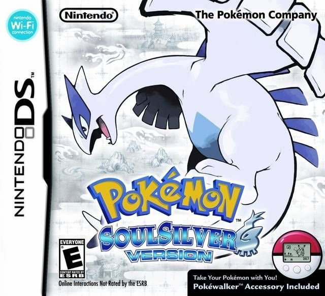 new products 7058a 438a7 4841 - Pokemon - Versione Argento SoulSilver - Nintendo DS ...