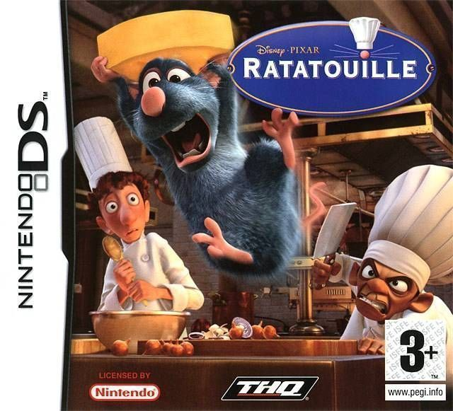 2008 - Ratatouille - Food Frenzy