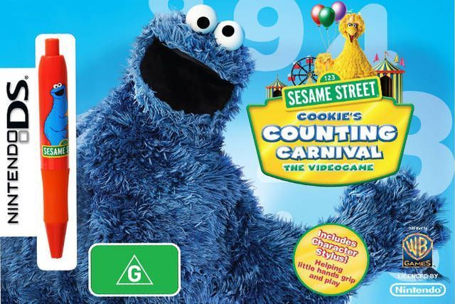 5328 - Sesame Street - Cookie's Counting Carnival - The Videogame (A)
