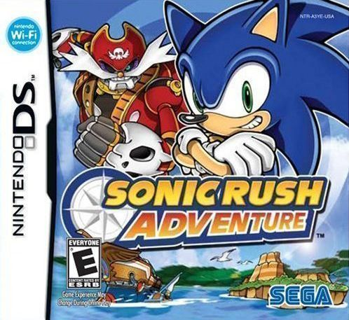 1444 - Sonic Rush Adventure - NDS ROM Free Download