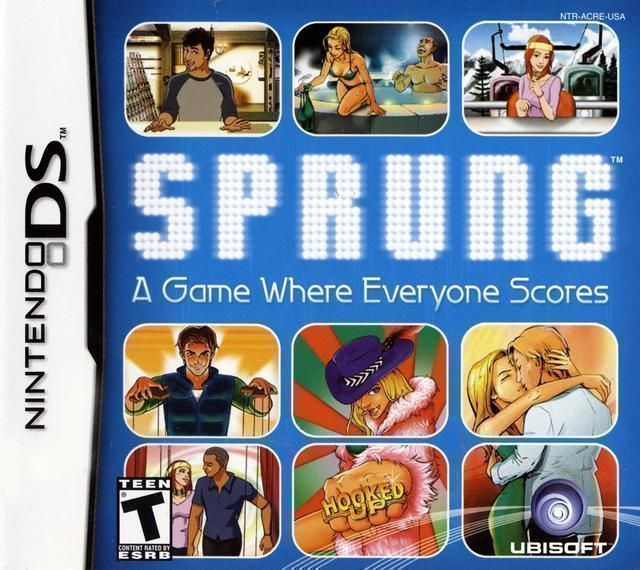 sprung the dating game nds rom download