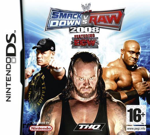 1616 - WWE SmackDown! Vs. Raw 2008 - Nintendo DS(NDS) ROM Download