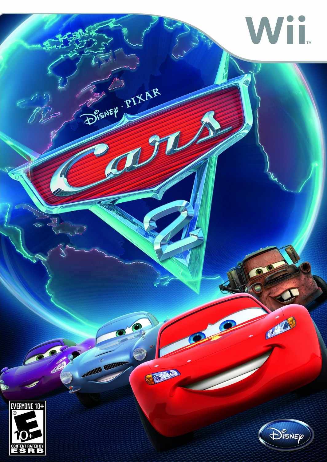 Cars 2 - Nintendo Wii(Wii ISOs) ROM Download