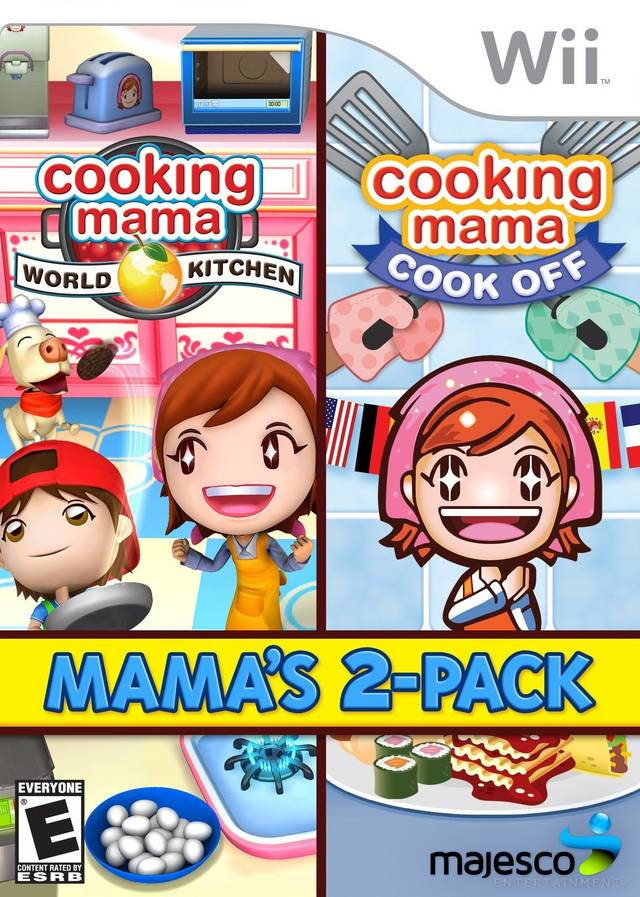 Cooking Mama- World Kitchen - Nintendo Wii(Wii ISOs) ROM Download