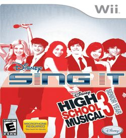 Disney Sing It - High School Musical 3 Senior Year