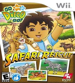 Go Diago Go Safari Rescue
