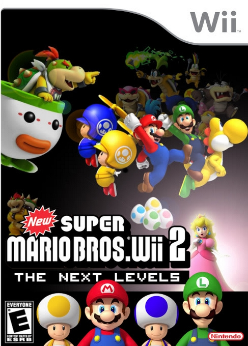 New Super Mario Bros Wii 2 The Next Levels Nintendo Wii Wii