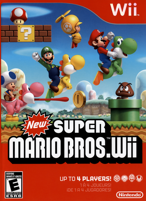 New Super Mario Bros Wii - Nintendo Wii(Wii ISOs) ROM Download