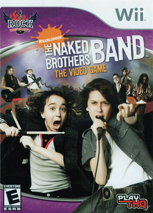 The Naked Brothers Band- The Video Game