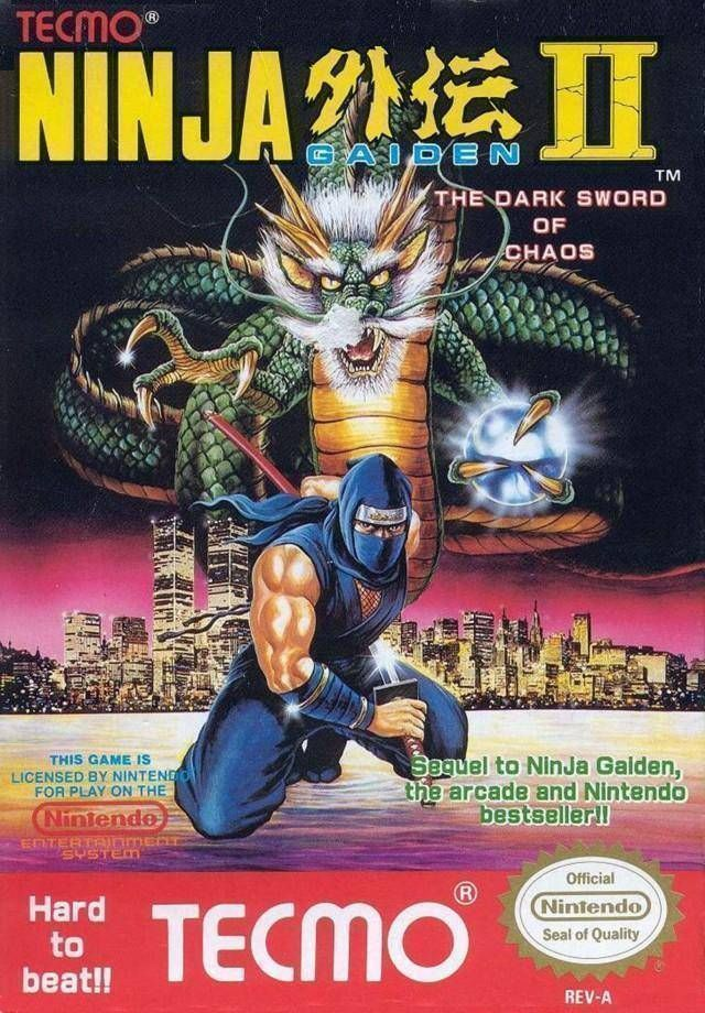 Ninja Gaiden 2 The Dark Sword Of Chaos Nintendo Nes Rom Download