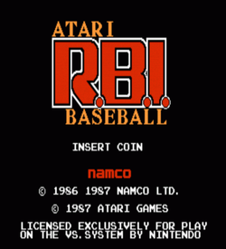 Atari RBI Baseball (VS)