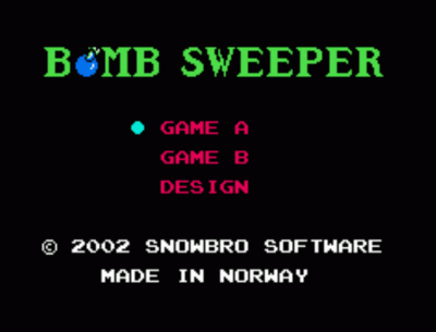 BombSweeper By SnowBro V0.5 (PD)