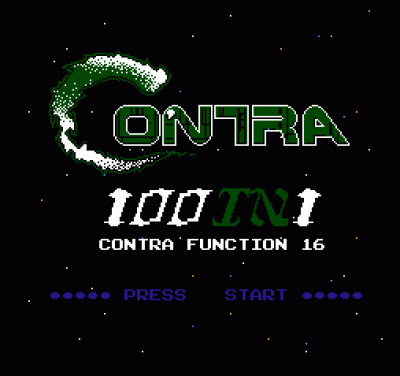 100-in-1 Contra Function 16 [a2] - NES ROM Free Download