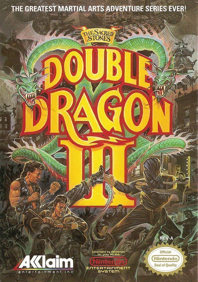 Double Dragon 3 - The Sacred Stones