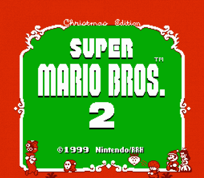 Super Mario Bros 2 - Christmas Edition (SMB2 Hack)
