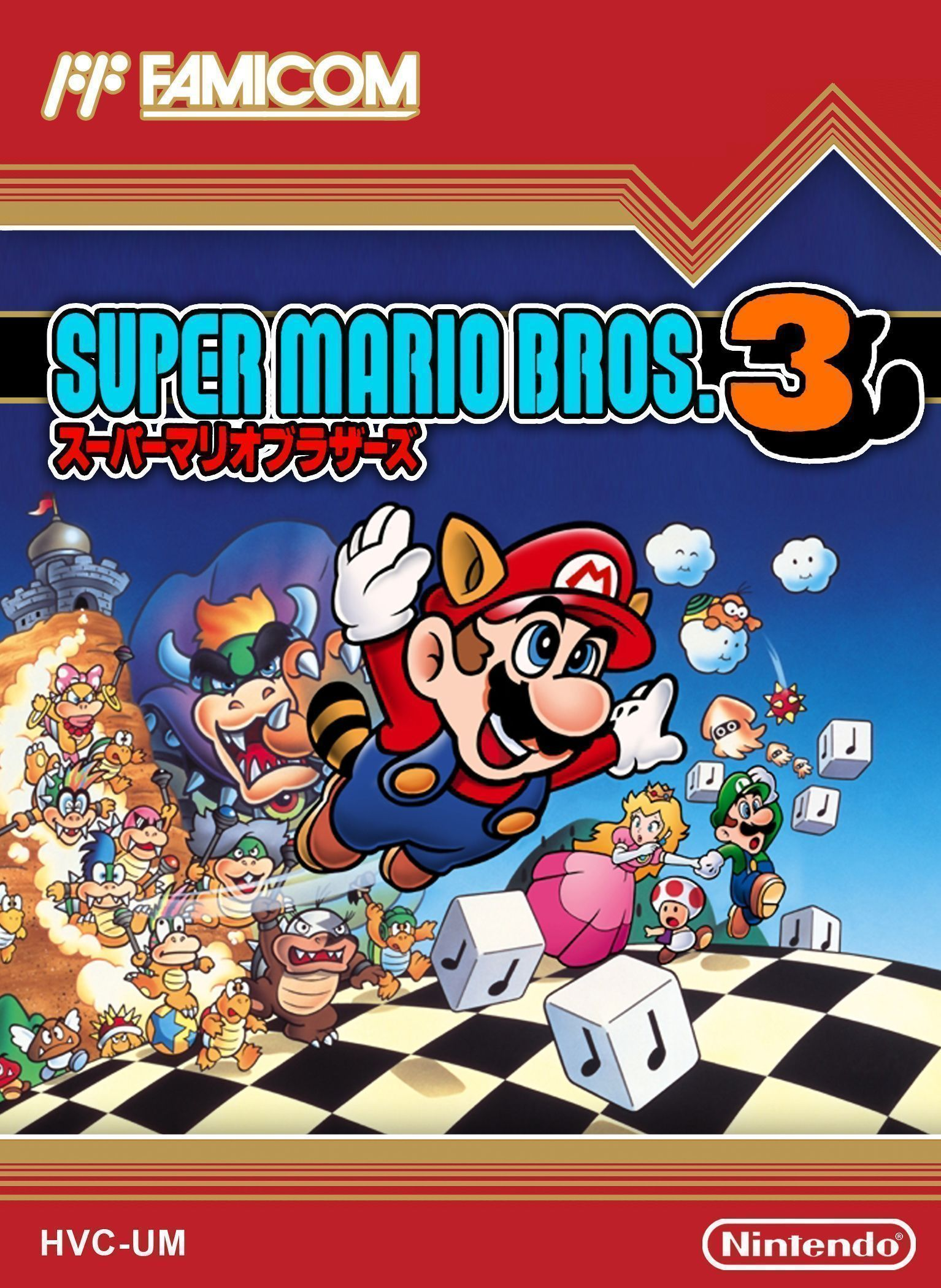 Super Mario Bros 3 - NES ROM Free Download