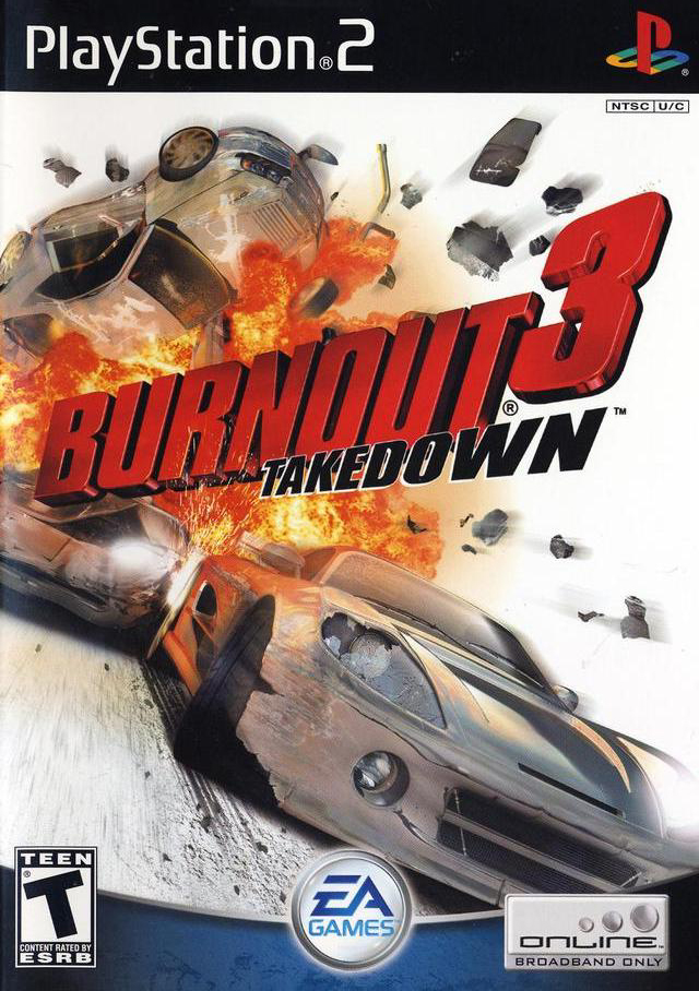 Burnout 3 - Takedown - Playstation 2(PS2 ISOs) ROM Download