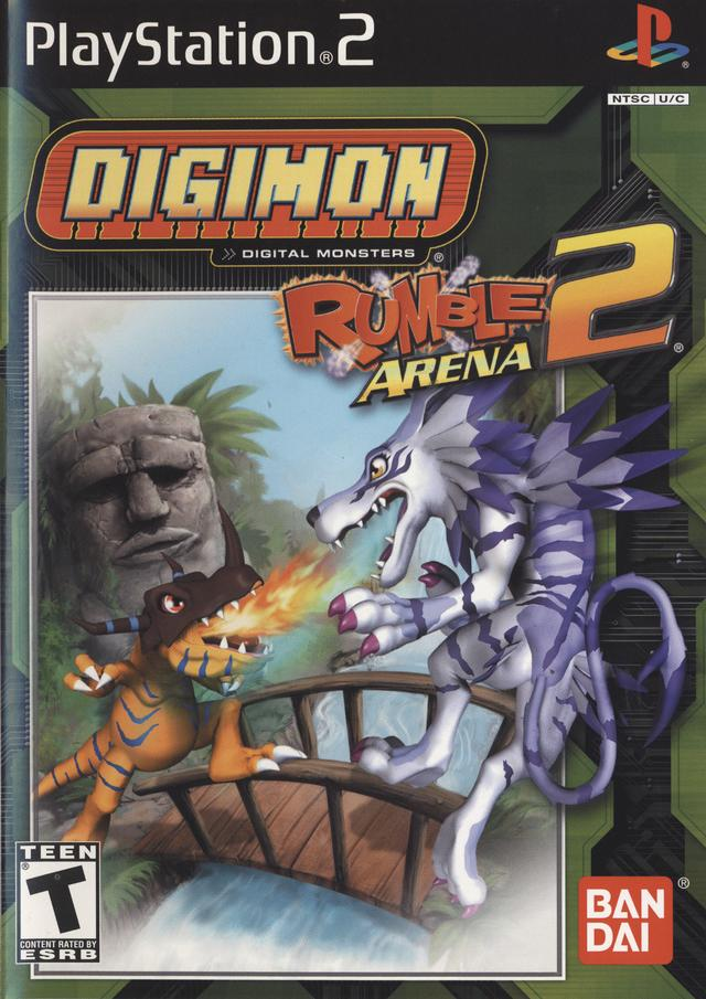 Digimon Rumble Arena 2 - PS2 ROM Free Download
