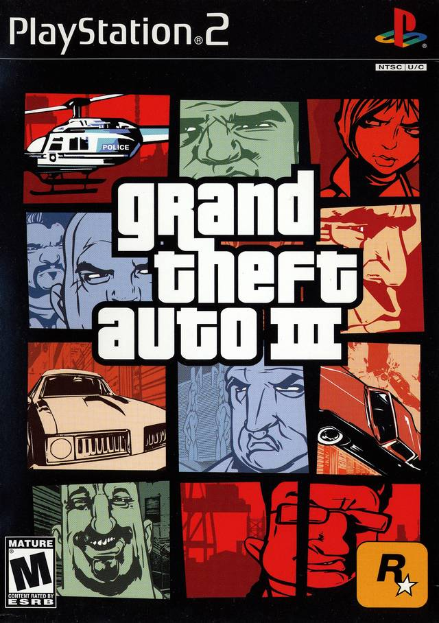 Grand Theft Auto III - PS2 ROM Free Download
