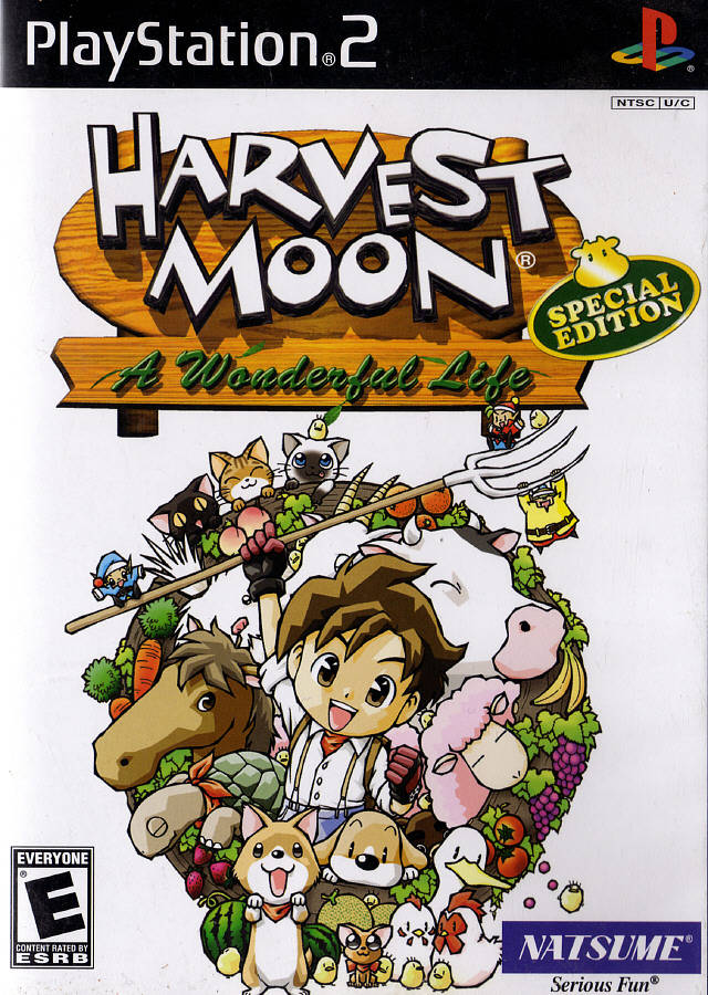 Harvest Moon - A Wonderful Life - Special Edition - PS2 ROM