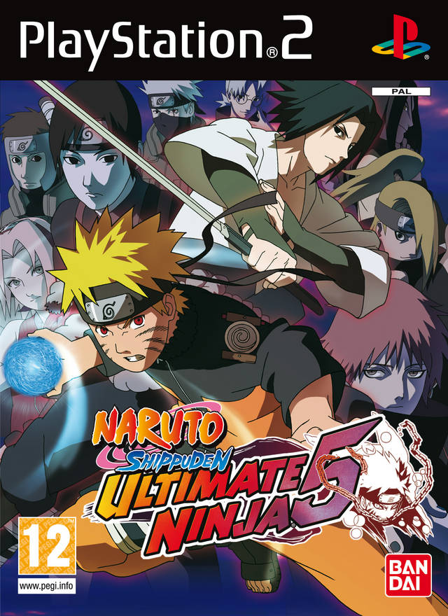 Naruto Shippuden - Ultimate Ninja 5 - Playstation 2(PS2 ISOs