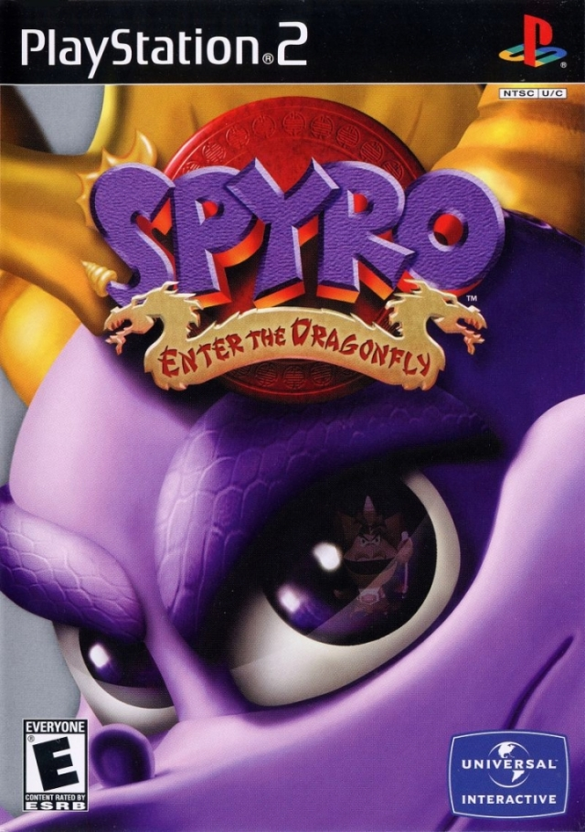 Spyro Enter The Dragonfly Playstation 2 Ps2 Isos Rom Download
