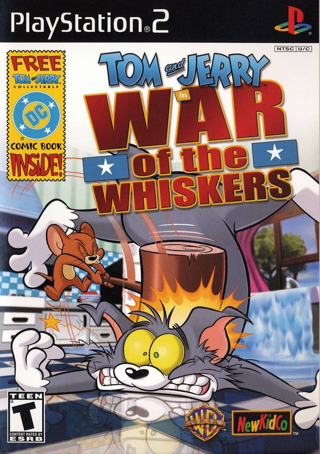 Tom And Jerry In War Of The Whiskers - PS2 ROM Free Download