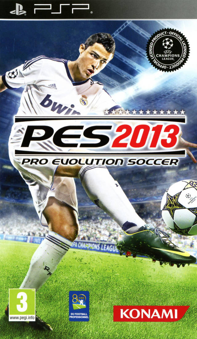 Pro Evolution Soccer 2013 - Playstation Portable(PSP ISOs