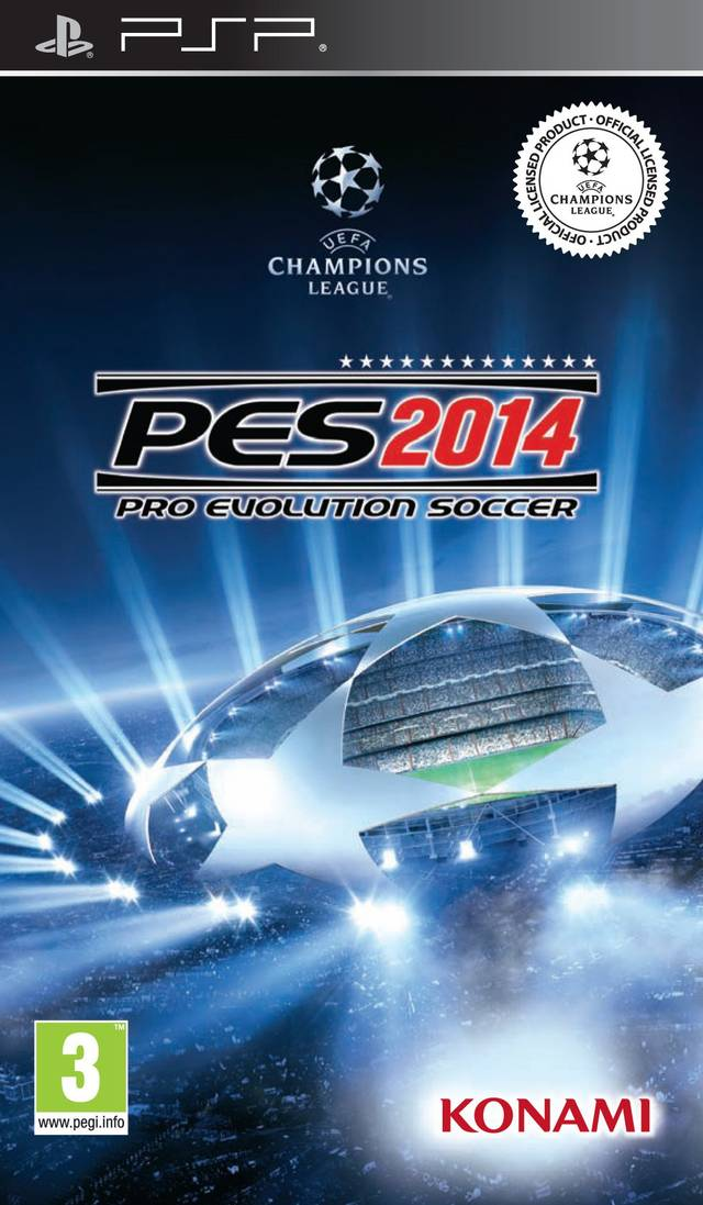 Pro Evolution Soccer 2014 - Playstation Portable(PSP ISOs) ROM Download