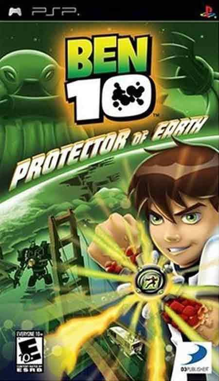 Ben 10 - Protector Of Earth - PSP ROM Free Download