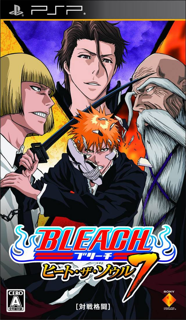 Bleach - Heat The Soul 7 - PSP ROM Free Download