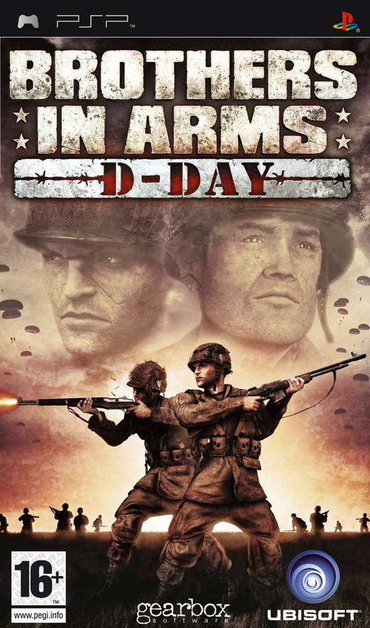Brothers In Arms D Day Playstation Portable Psp Isos Rom Download