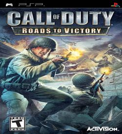 Call Of Duty Roads To Victory Playstation Portable Psp Isos Rom Download