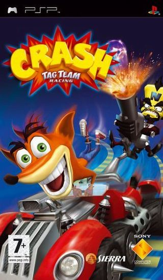 Crash Tag Team Racing - Playstation Portable(PSP ISOs) ROM
