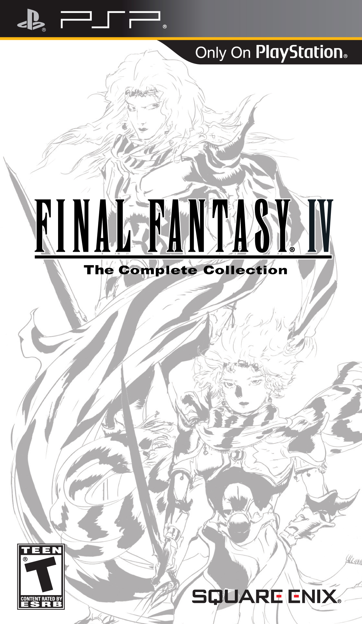 Final Fantasy IV - The Complete Collection - Playstation Portable