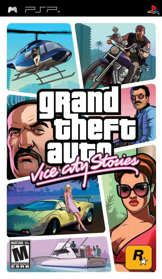 Grand Theft Auto - Vice City Stories - Playstation Portable
