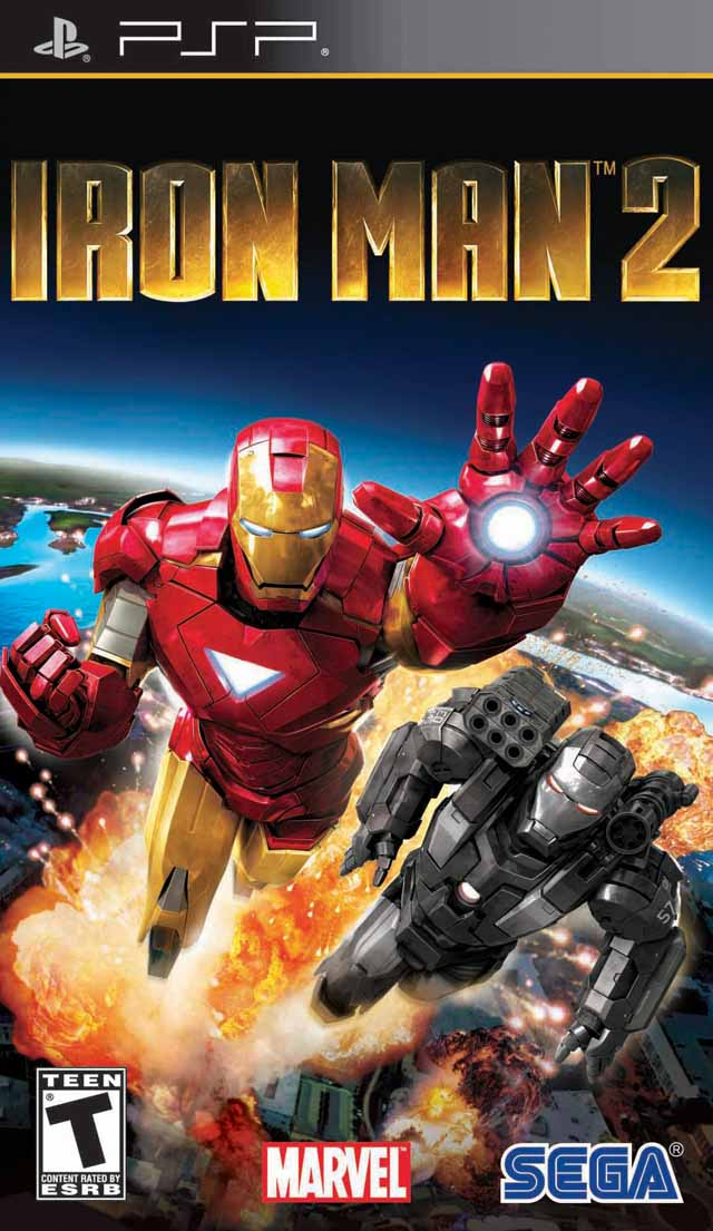Iron Man 2 - The Video Game - Playstation Portable(PSP ISOs) ROM