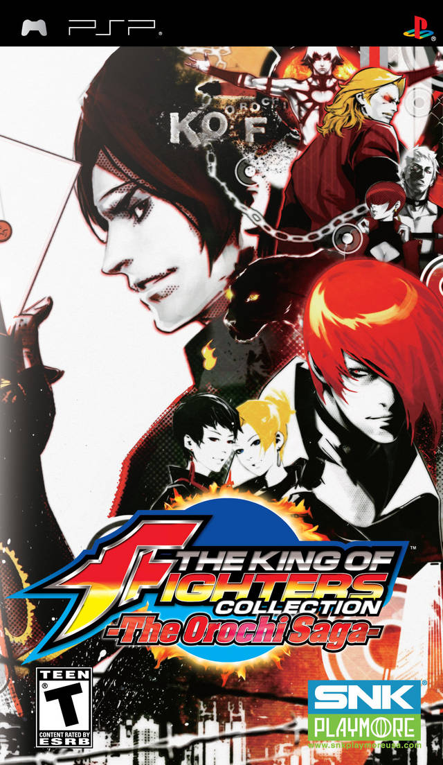 King Of Fighters Collection The The Orochi Saga Playstation